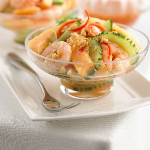 Prawn Salad with Thai Sweet Chilli Dressing