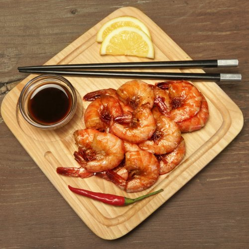 Prawns in Soy Sauce